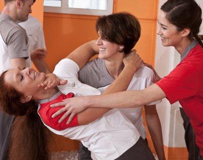Frauen Selbstverteidigungkurs bei EWTO